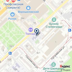 «Ворошиловский социально-реабилитационный центр для несовершеннолетних» на карте
