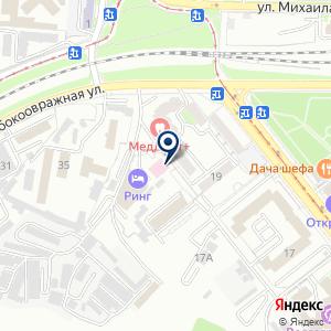 «Диалайн» на карте