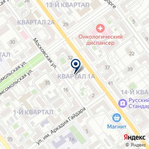 "«Студия интернет маркетинга и рекламы ""WebRegion-34""» на карте"