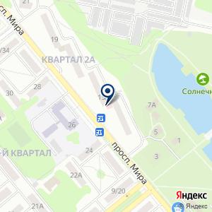 «Дента» на карте