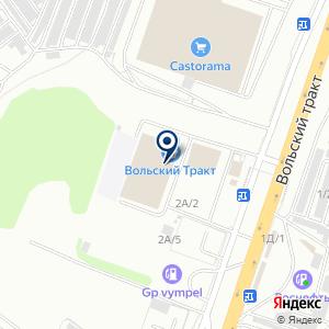 «Крона» на карте