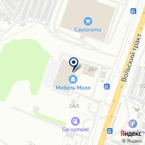 «Много Мебели» на карте