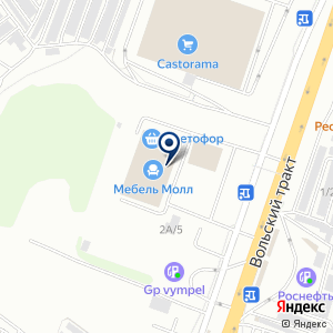 «Добрые цены» на карте