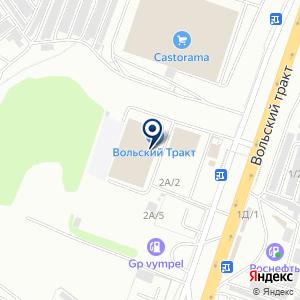 «Марка» на карте