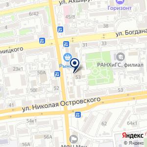 «Тенториум» на карте
