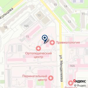 «Травматологическая поликлиника» на карте