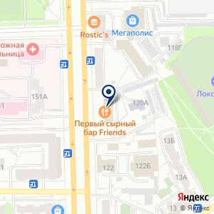 «ВДМ 43 (Все для мебели 43)» на карте