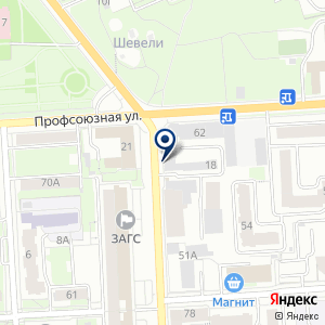 «КБ-43» на карте