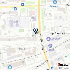 «Шервуд» на карте
