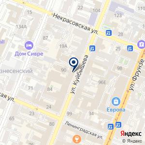 «Самарский институт профсоюзного движения» на карте