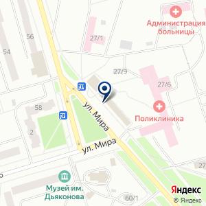 «Билайн» на карте