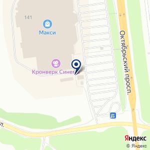 «АвтоГигант» на карте