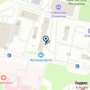 «Автодеталь» на карте