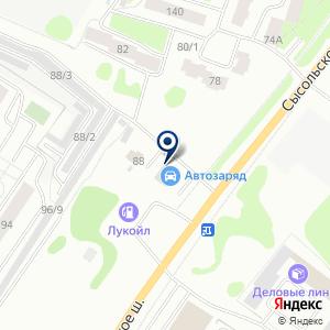 «Автодок» на карте