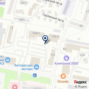 «Daewoo» на карте