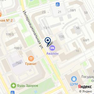 «Сова» на карте