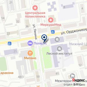 «Бизнес партнер» на карте