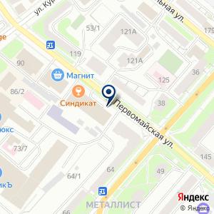 «Адвокат Попов М.В» на карте