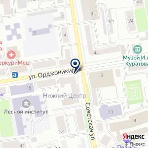 «ЭТАЛОН Эксперт-Оценка» на карте