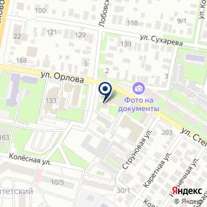 «Центр социальной поддержки населения Оренбургского района» на карте