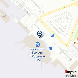 «Западно-Сибирское Агентство Воздушных Сообщений» на карте