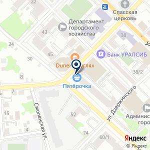 «Орион» на карте