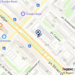 «Анекс Тур» на карте