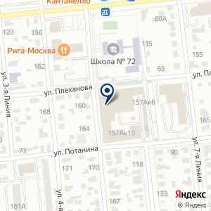 «Омск Проект» на карте