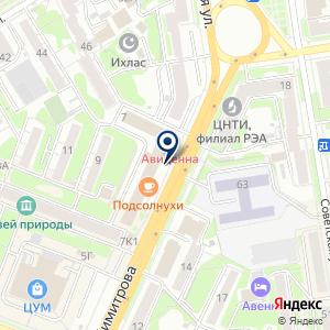 «СпецВидеоСервис» на карте