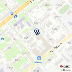 «Триумф-НСК» на карте