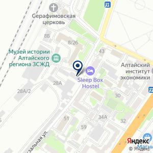 «Алтай-аренда» на карте
