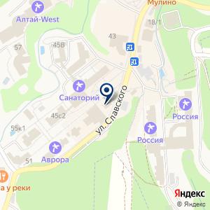 «Алтай-лекарь» на карте