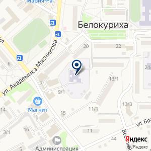 «Алёнушка» на карте