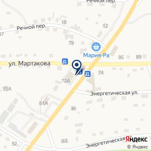 «Аникс» на карте