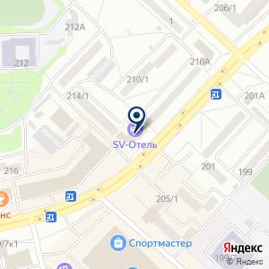 «Слетать. ру - сеть туристических агентств» на карте