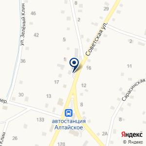 «Эврика» на карте