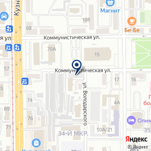 """«Сертификационный центр """"Прометей""""» на карте"""