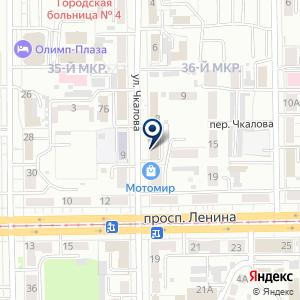 «Первое Детское» на карте