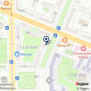 «Кузбасский мобильный центр» на карте