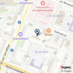 «КФЛ-Кемерово» на карте