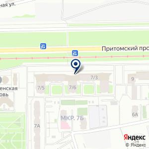 «Сибирский институт горного дела» на карте
