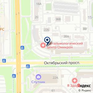 «Есения» на карте