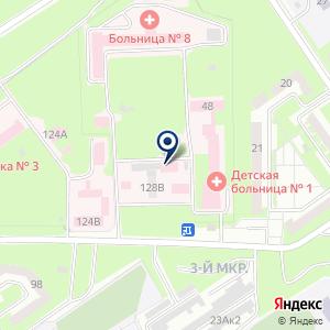 «Стоматологическая поликлиника г. Белово» на карте