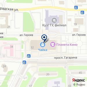 «Vkus» на карте