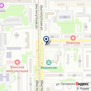 «Прокопьевская городская стоматологическая поликлиника №1» на карте