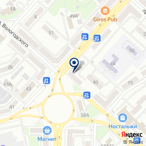 «Татьяна» на карте