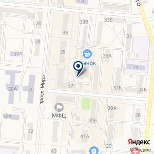 «ДА-НК» на карте