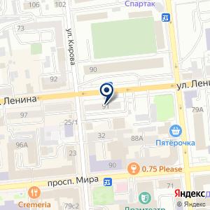 «Арена» на карте