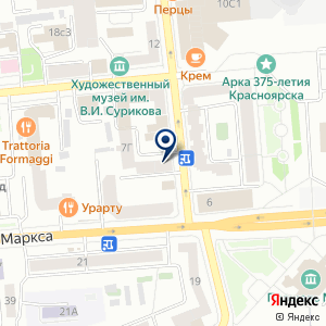 «МАРКО» на карте