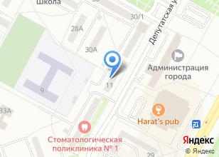 Компания «Братск Принт» на карте